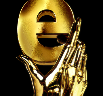 3D Illustration – Gold Hand Award