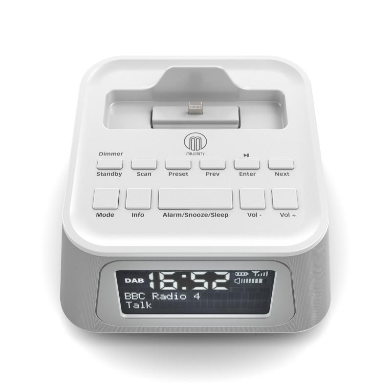 PRODUCT VISUALISATION – DAB RADIO ALARM CLOCK