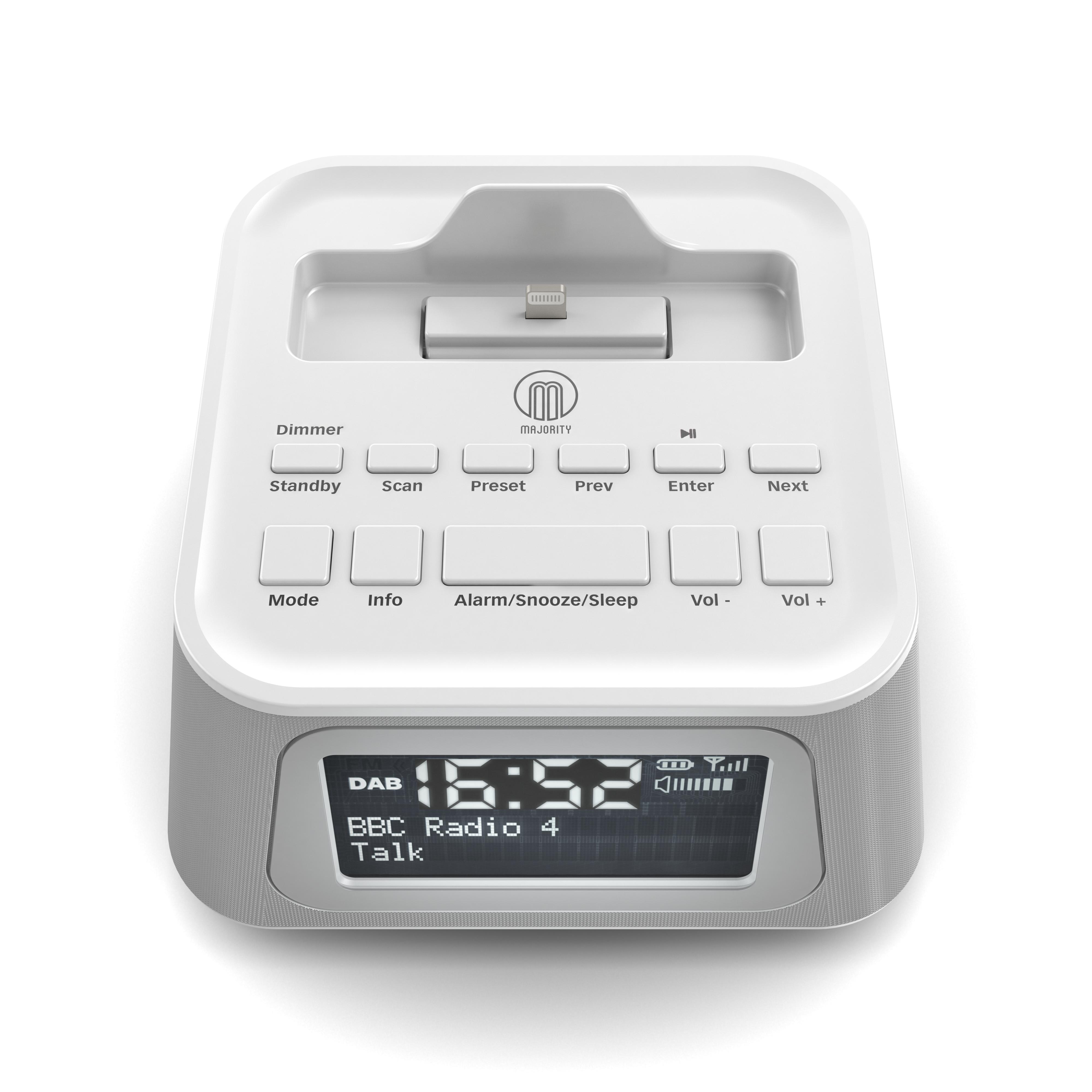 product visualisation dab radio alarm clock. Black Bedroom Furniture Sets. Home Design Ideas