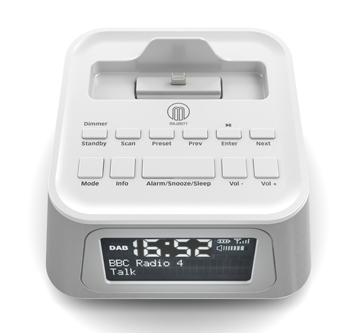 PRODUCT VISUALISATION – DAB RADIO ALARM CLOCK