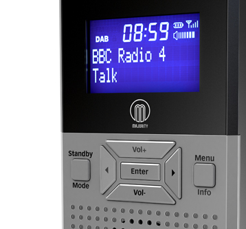 PRODUCT VISUALISATION – DAB RADIO