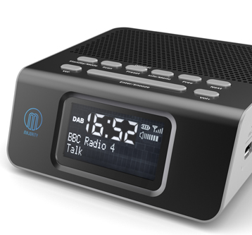 PRODUCT VISUALISATION – DAB ALARM CLOCK