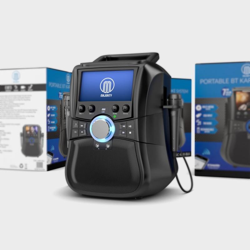 3D Visualisation – CGI Product Rendering Karaoke Machine