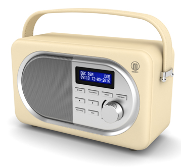 3D Visualisation – DAB Radio Product Imagery