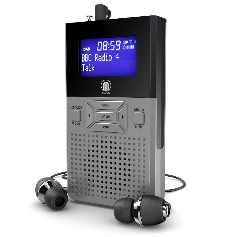 PRODUCT VISUALISATION – PERSONAL DAB RADIO