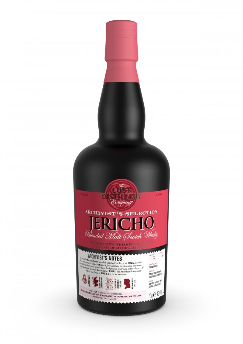 Archivist Whisky Bottle Visualisation